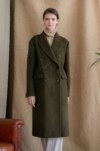 CLASSIC DOUBLE TAILORED COAT[KK]